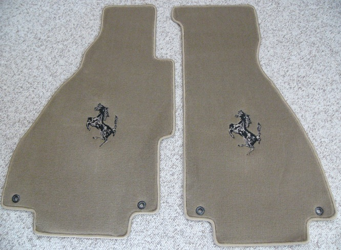 Floor mat set, Tan